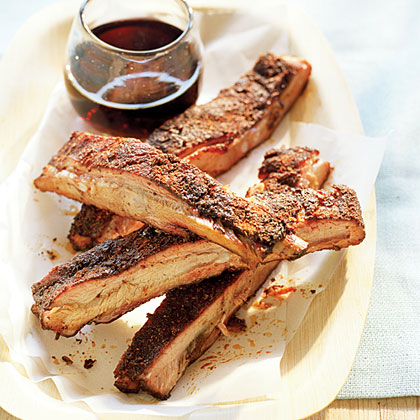 Applewood-smoked Spareribs with Paprika Chili Spice Rub