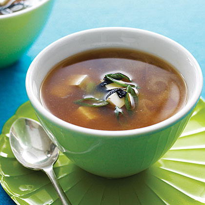 Miso Soup with Tofu and Nori