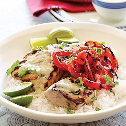 Mahimahi with Thai Green Curry