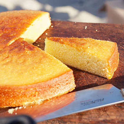 Olive Oil Cake with Summer Fruit