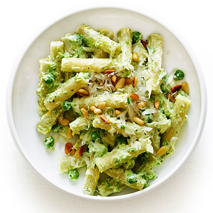 Ricotta and Pea Pasta