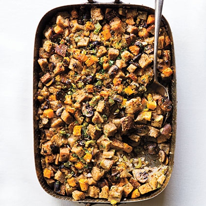 Rye and Butternut Squash Dressing