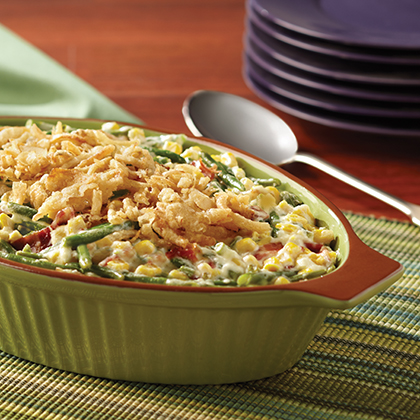 Not the Classic Green Bean Casserole