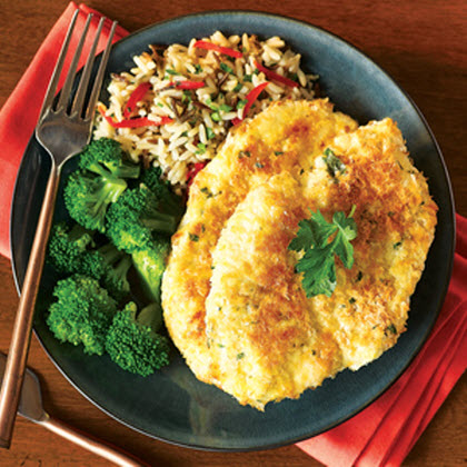 Potato-Crusted Herb Baked Chicken