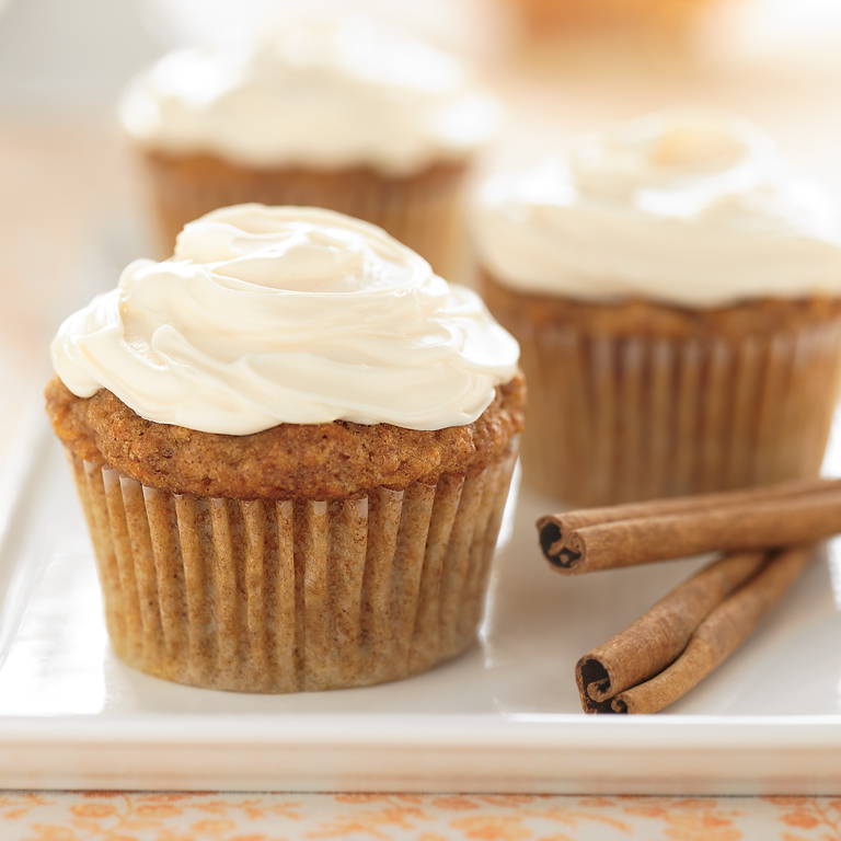 Spicy Carrot Cupcakes