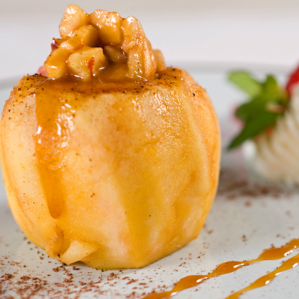 Spicy Baked Apples