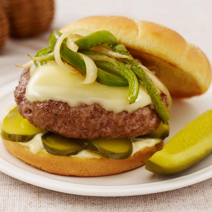 Philly Dill Cheeseburger
