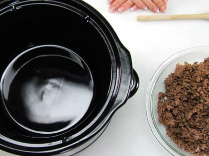 Using a Slow-Cooker Insert