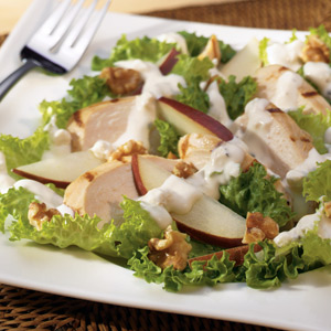 Wish Bone Grilled Chicken W Pear Walnut Salad Recipes