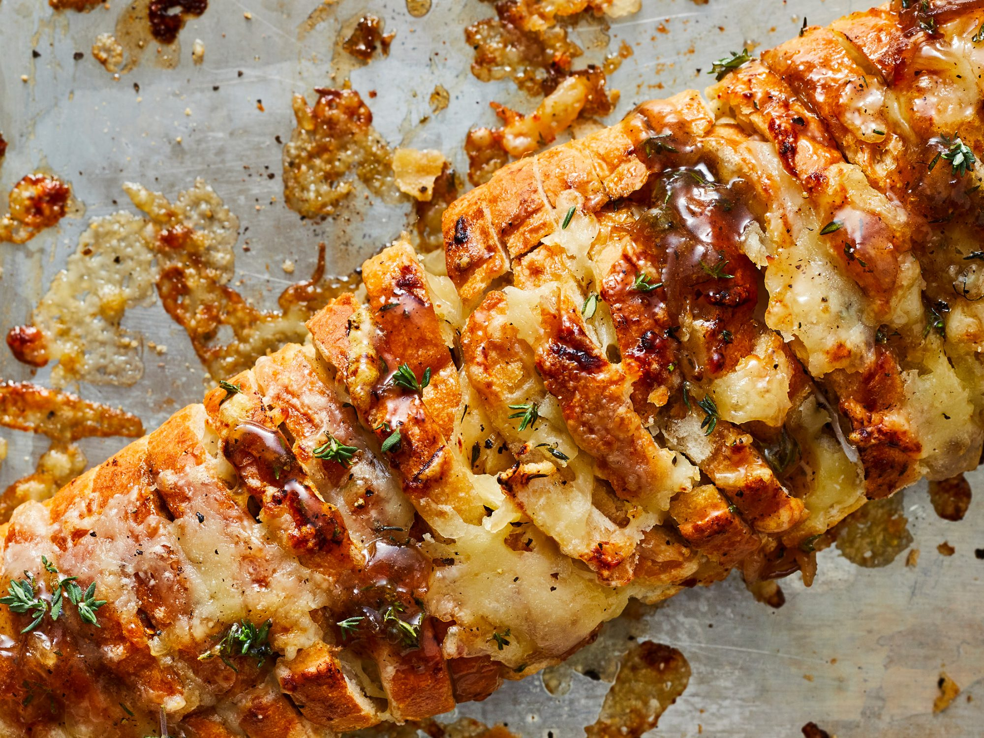 French Onion Pull Apart Bread image