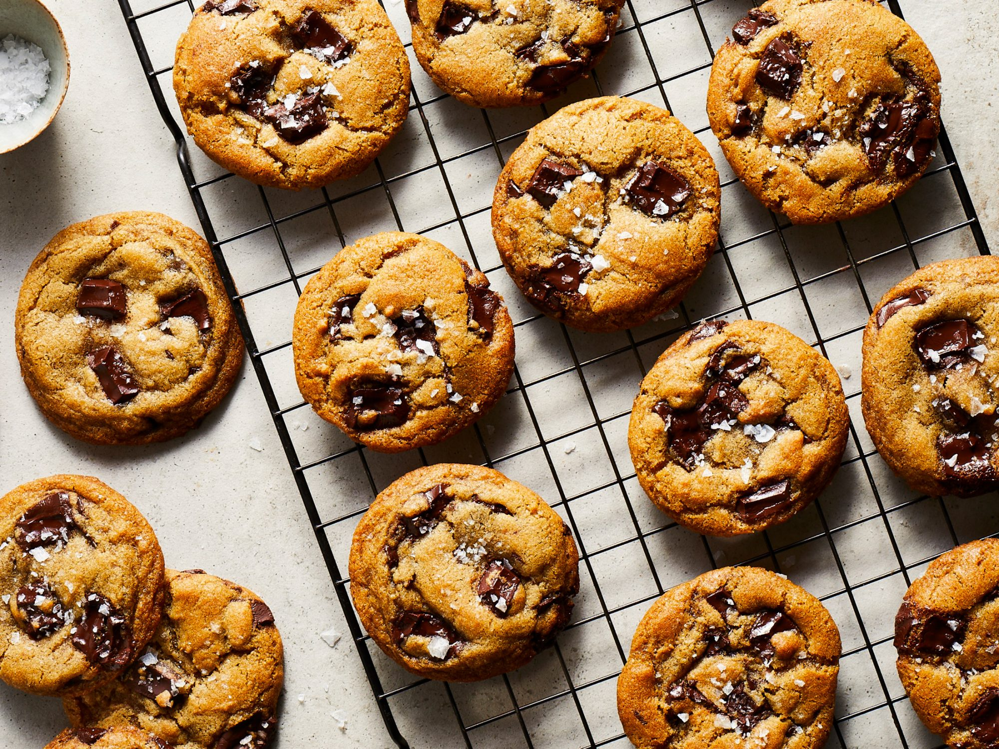 Olive Oil Chocolate Chip Cookies image