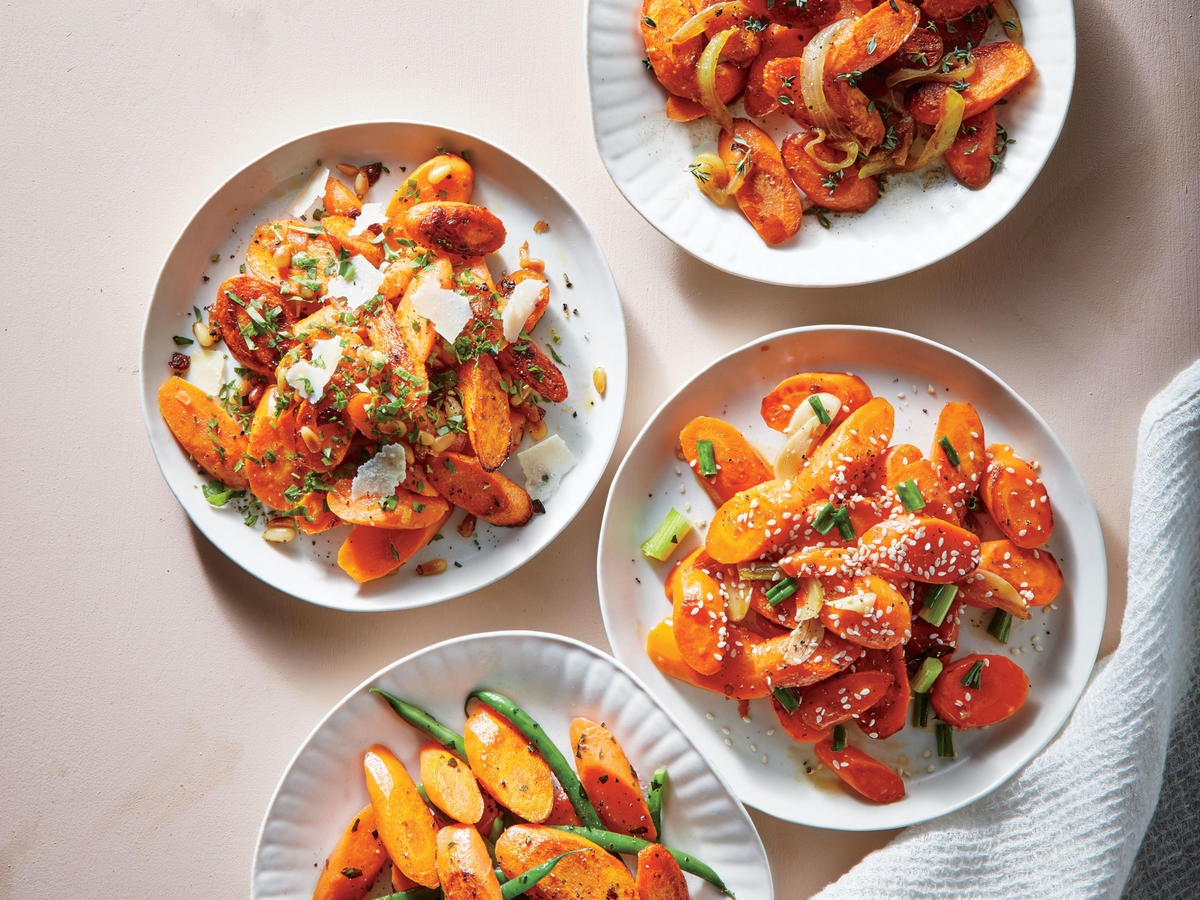 Tarragon Carrots with Green Beans image
