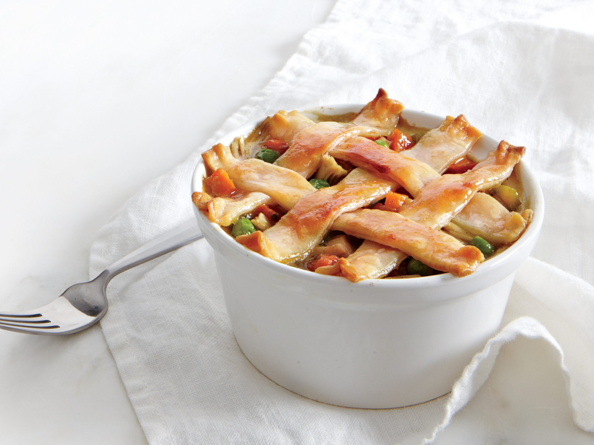 Pastry-Topped Chicken Potpie