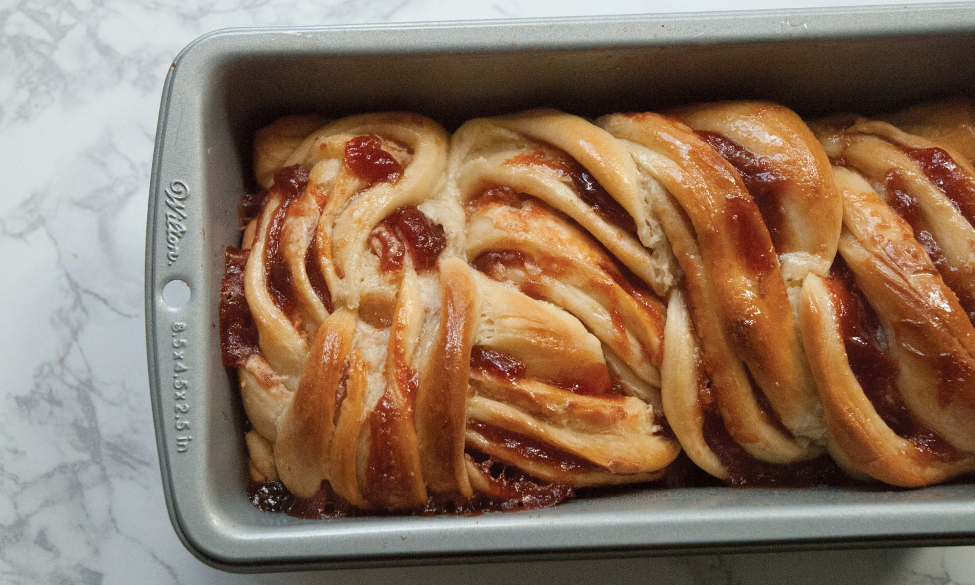 peanut butter and jelly babka