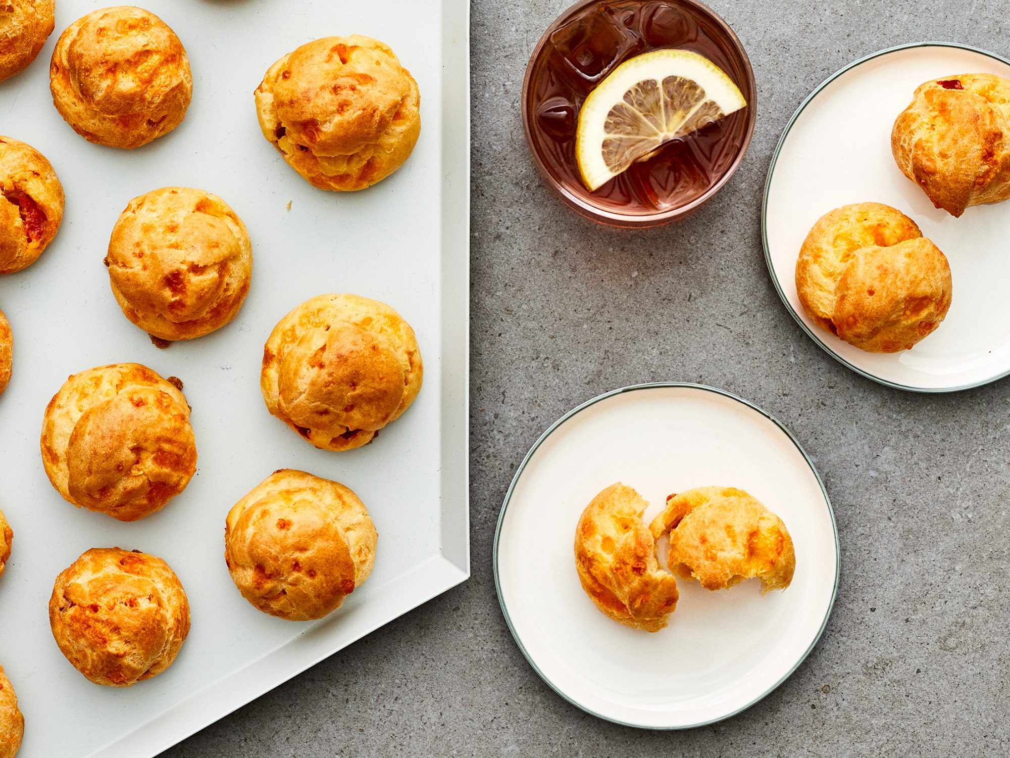 Pimento Cheese Puffs image