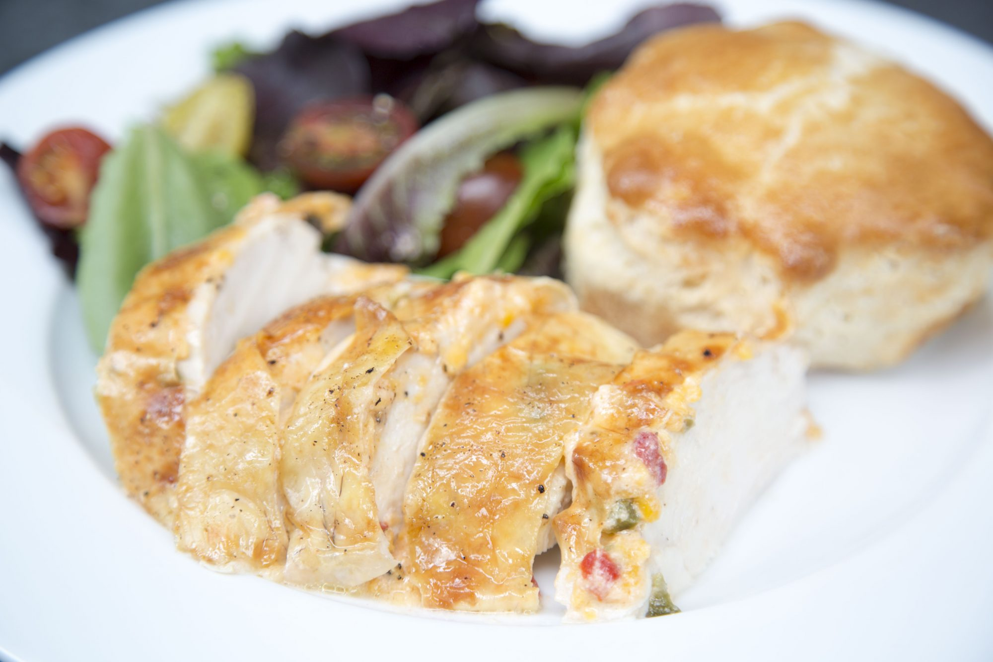 Pimiento Cheese Roasted Chicken image