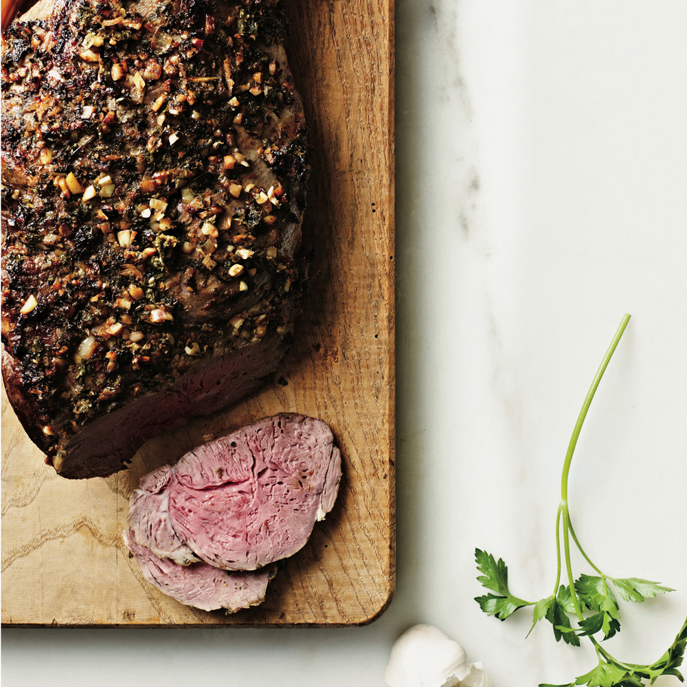 Herb and Citrus Roast Leg of Lamb