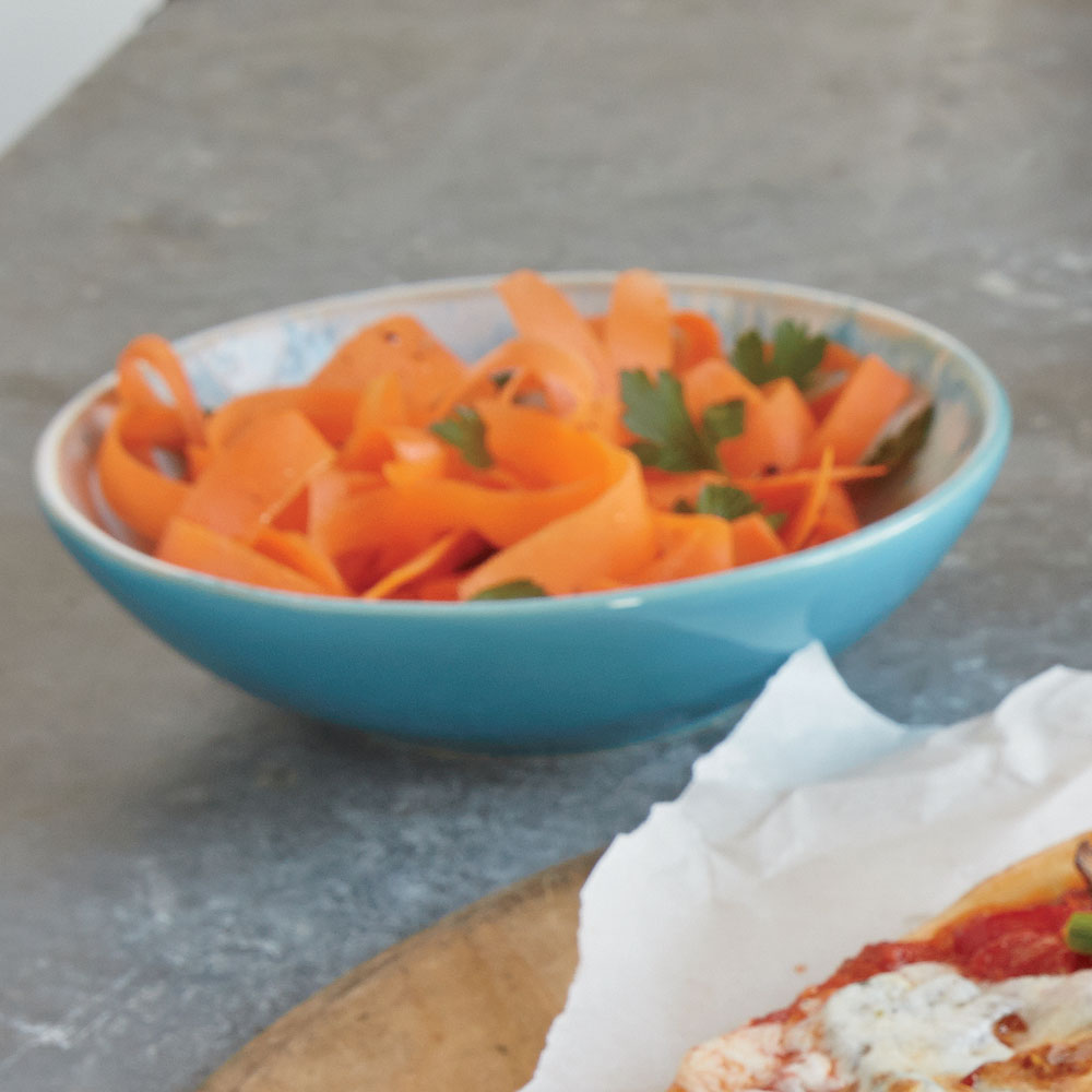 Shaved Carrot and Parsley Salad