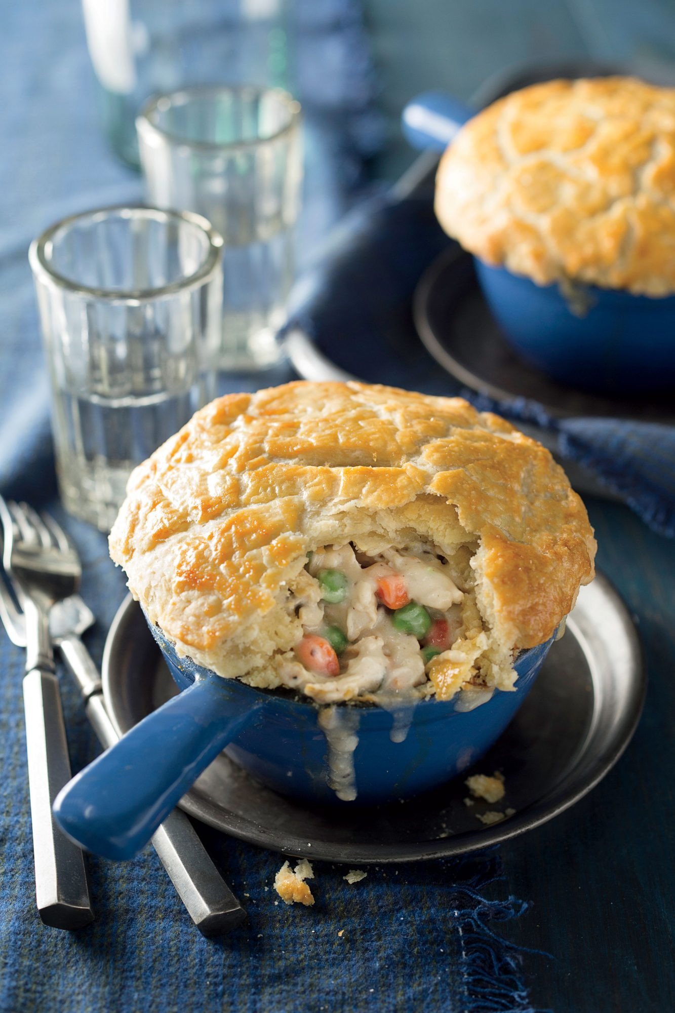 Doube-Crust Chicken Pot Pies image