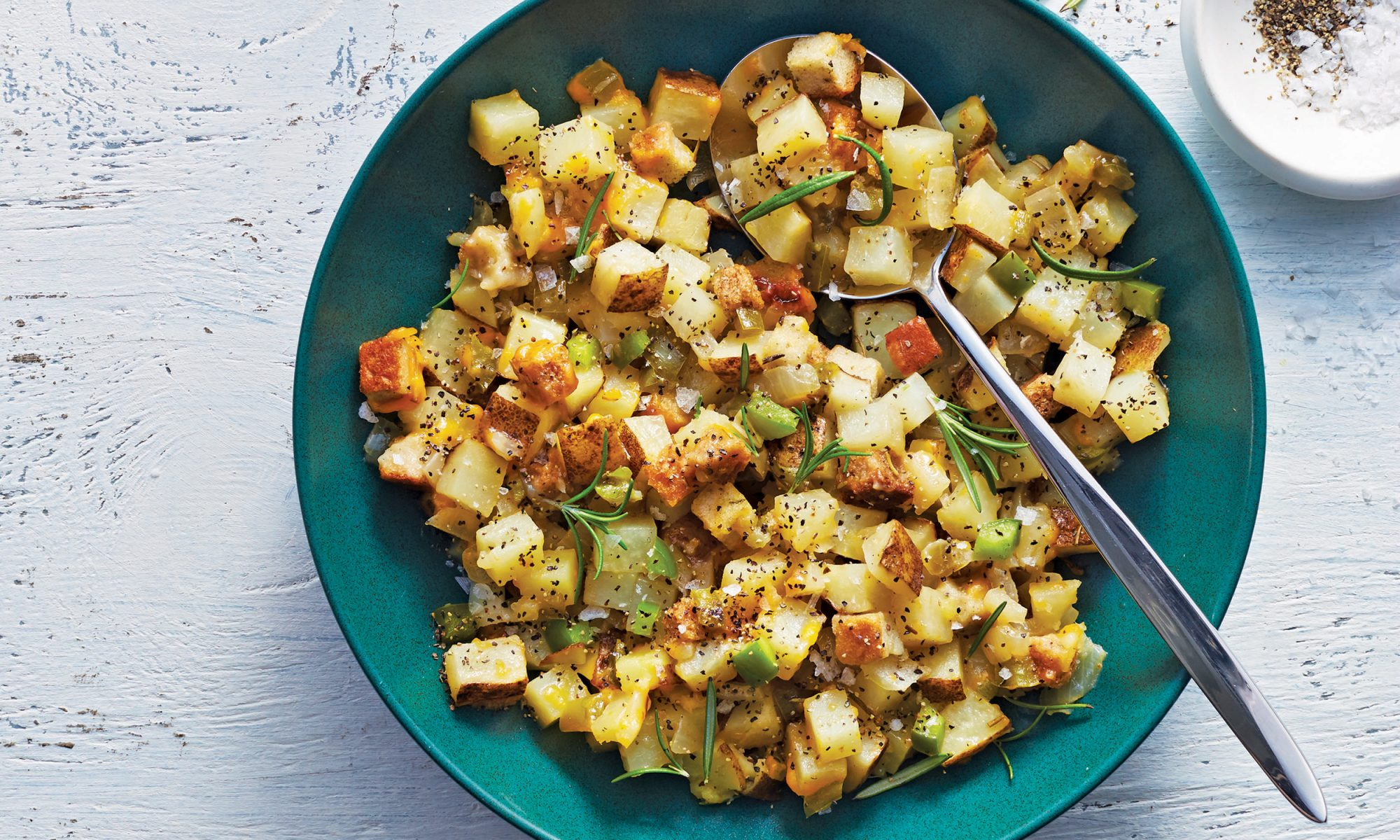 slow cooker cottage potatoes