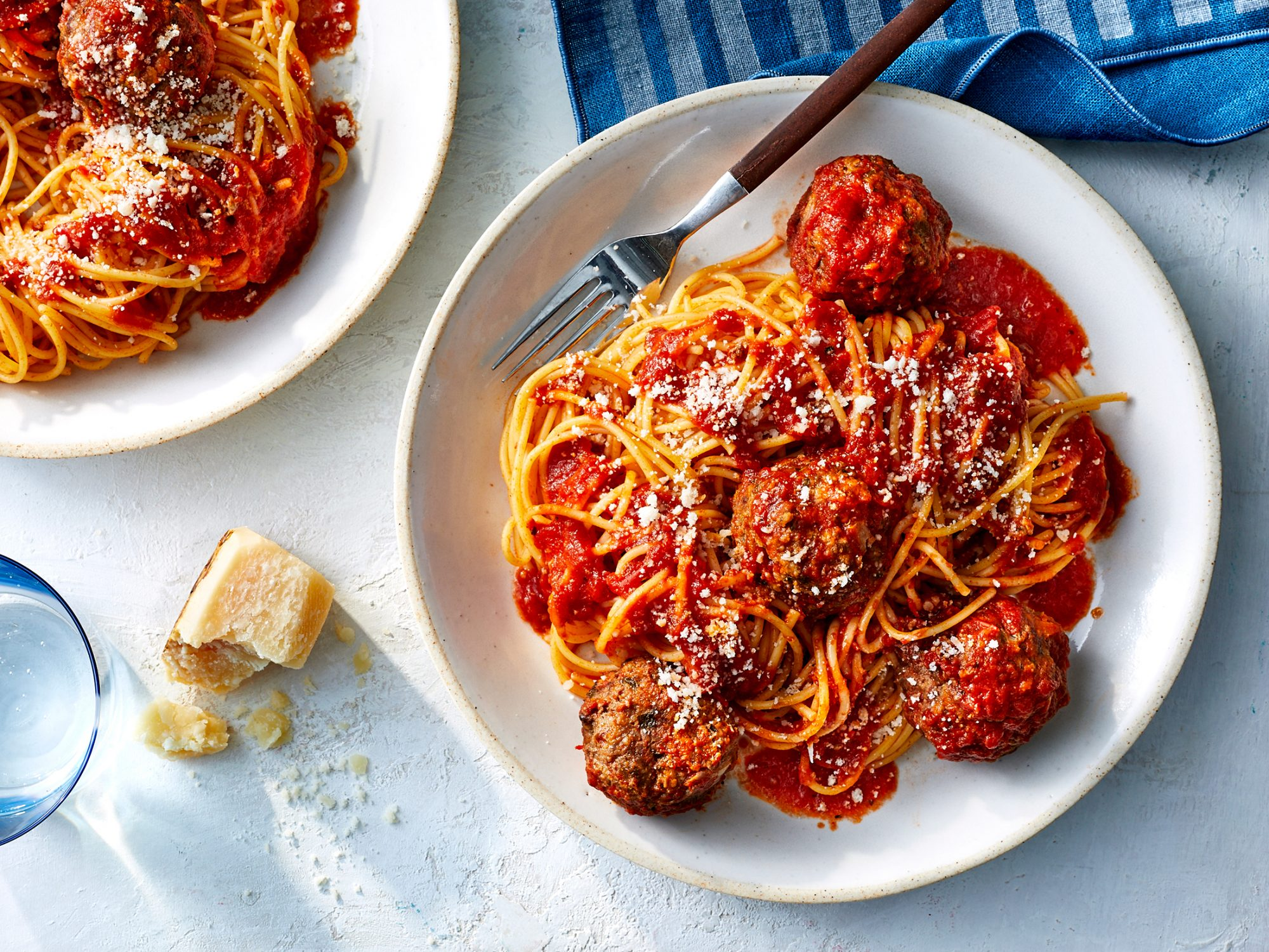 Spaghetti and Easy Meatballs