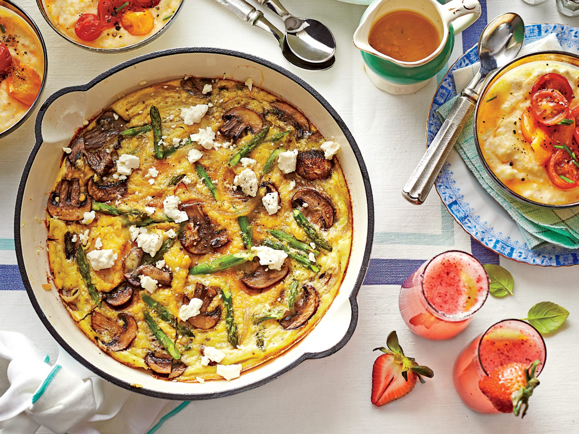 Spring Vegetable Frittata