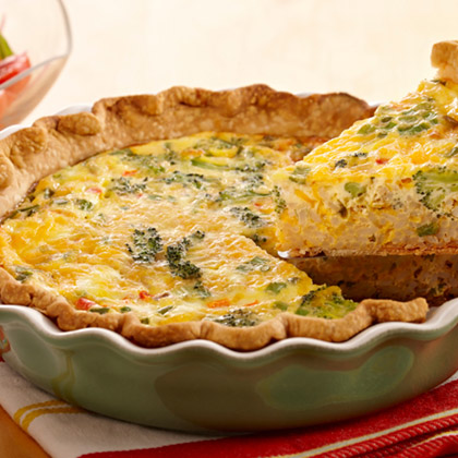 Dirty Rice Quiche