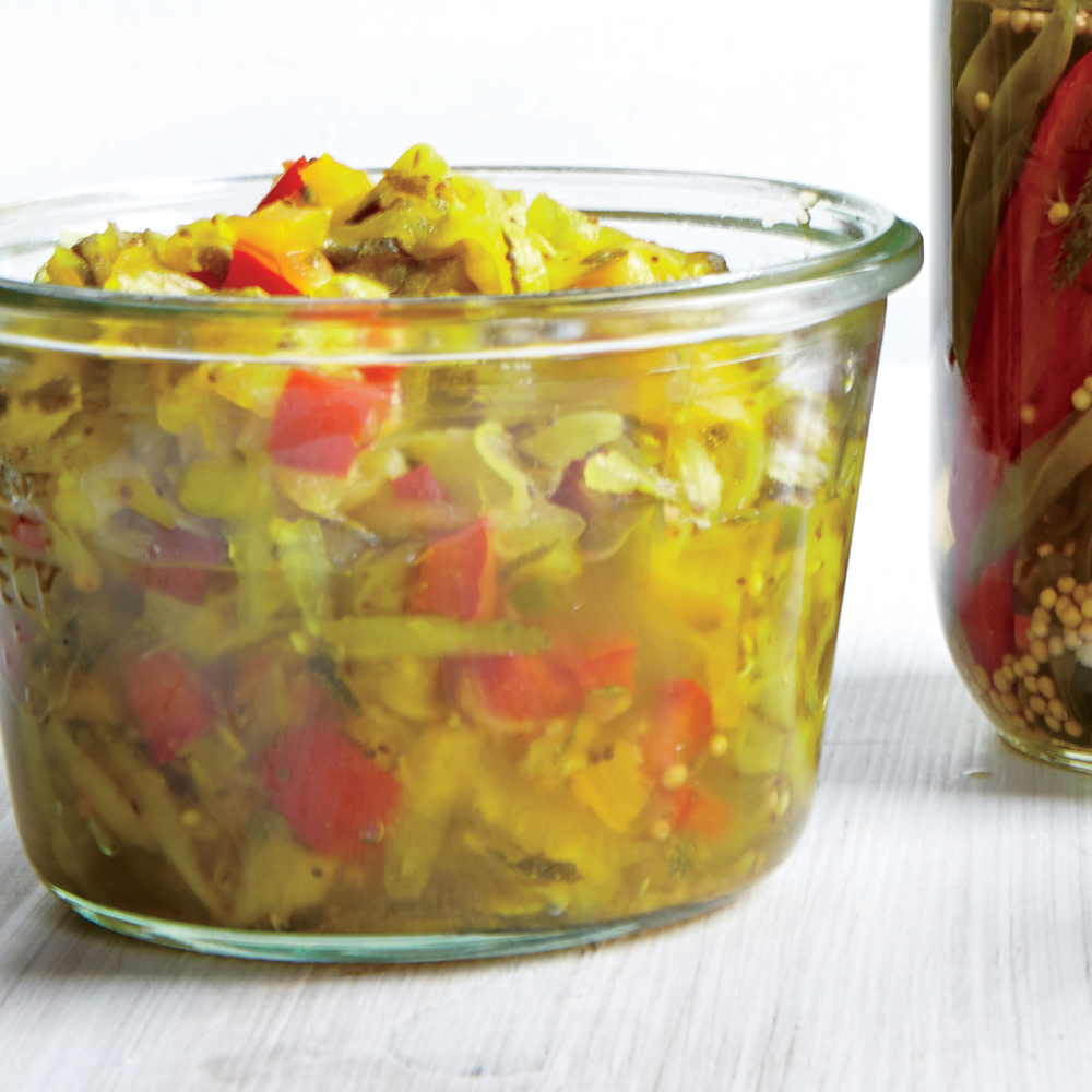 Zucchini and Bell Pepper Relish