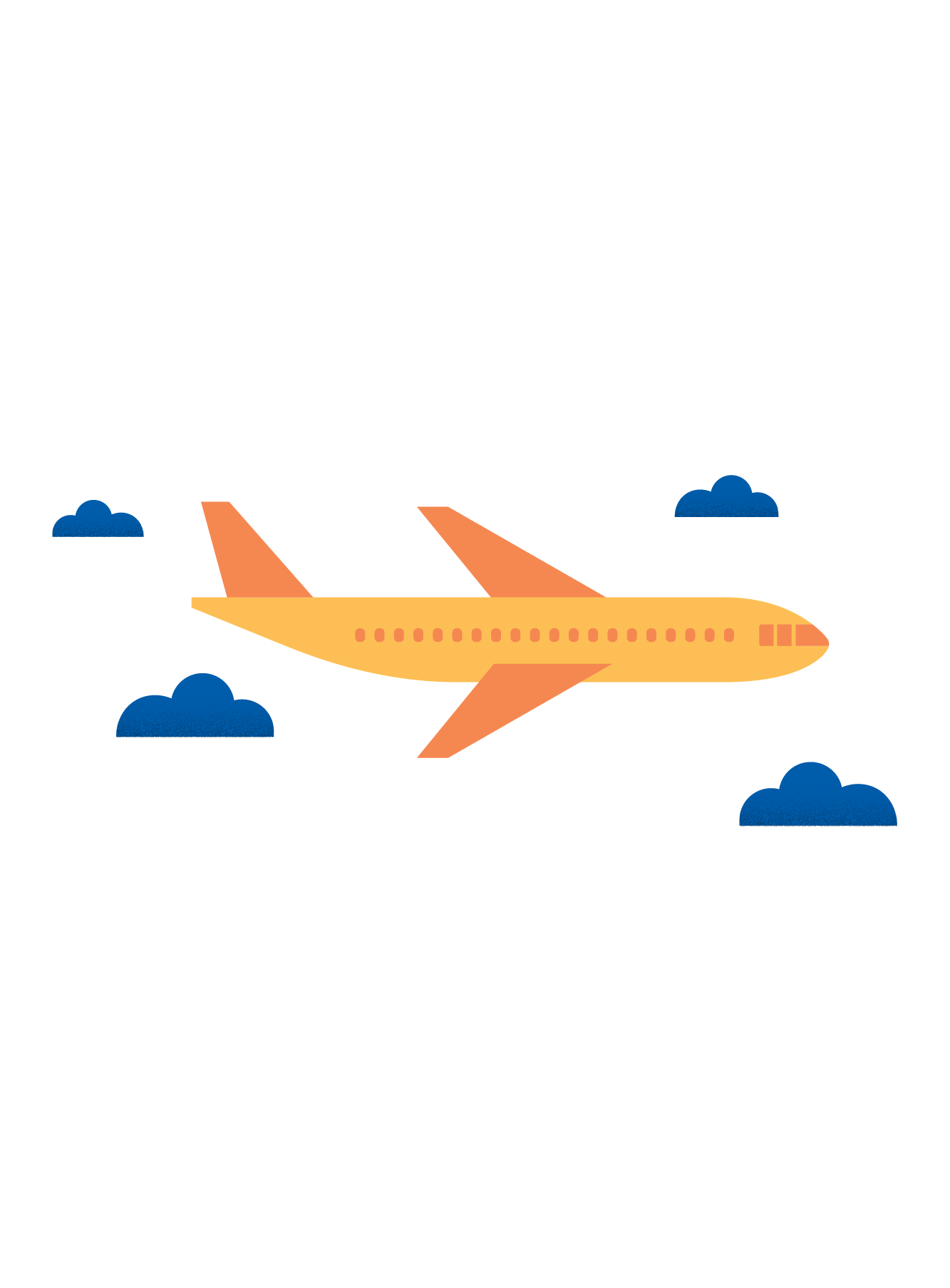 Illustration of an airplane (34)