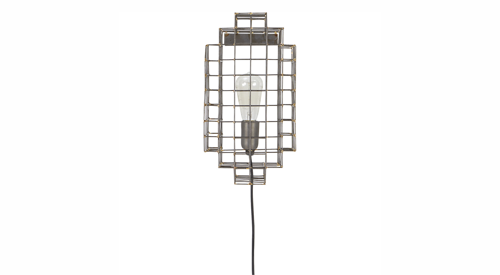 Cage Wall Sconce