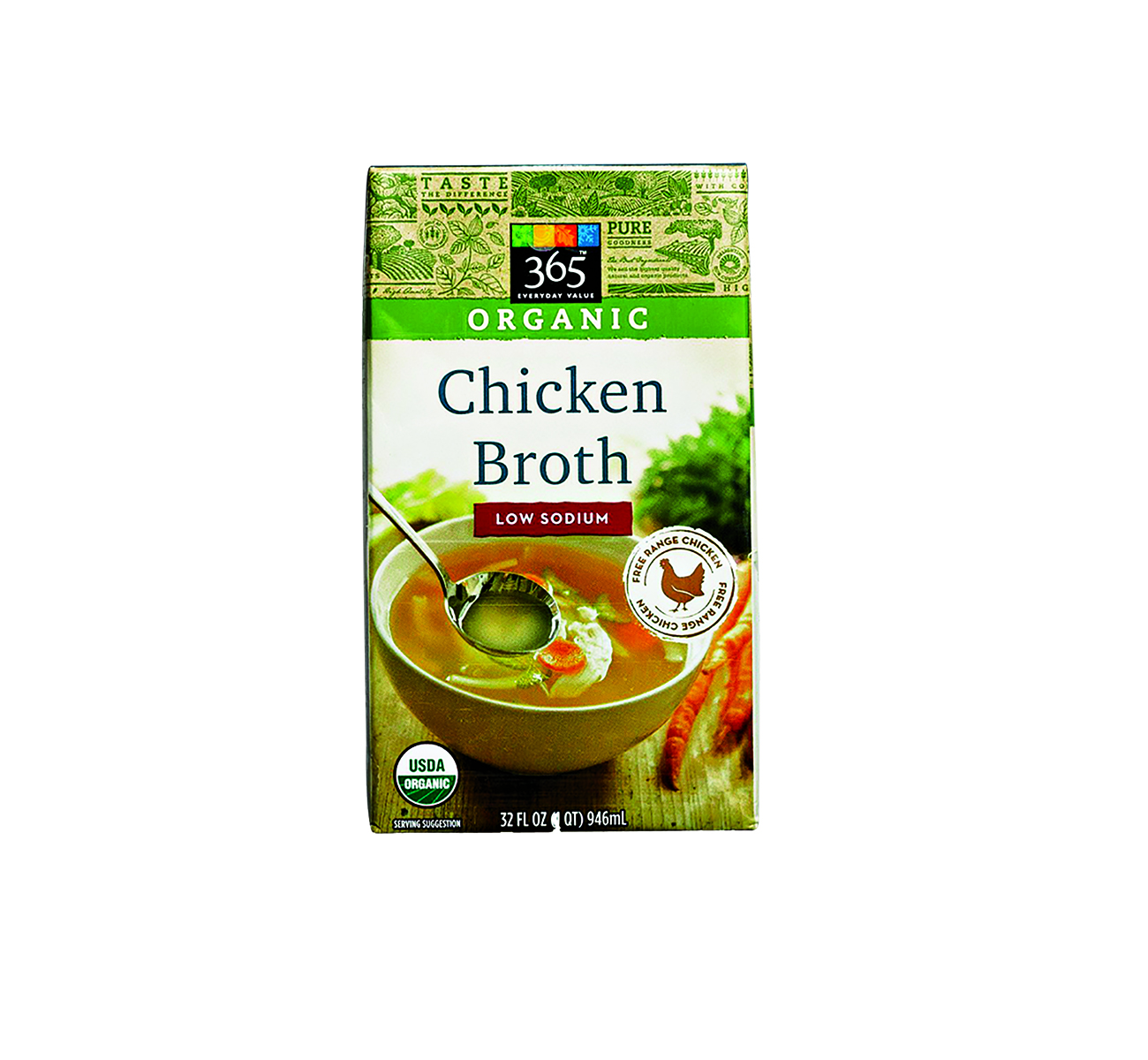365 Low Sodium Chicken Broth
