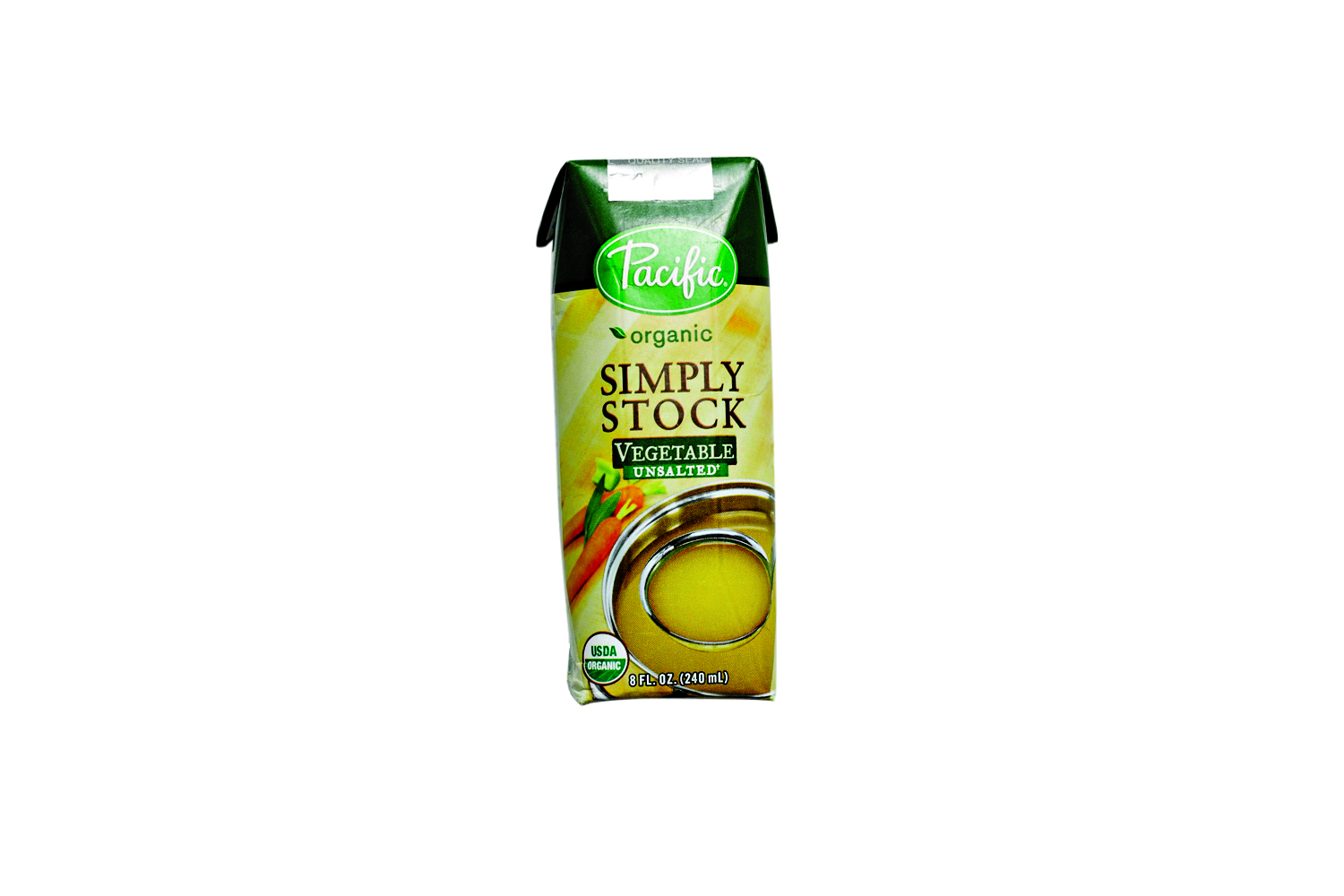 Pacific Simply Organic Unsalted Vegetable Stock