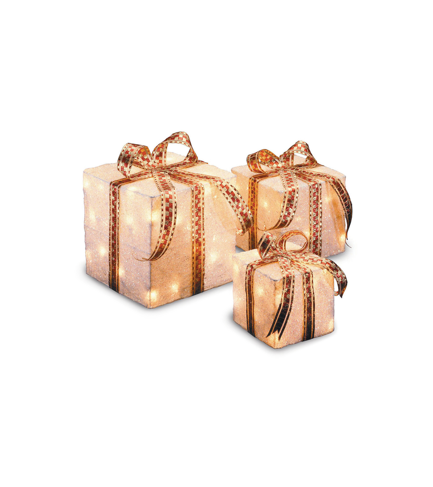 3 Piece Gift Boxed Christmas Decoration Set