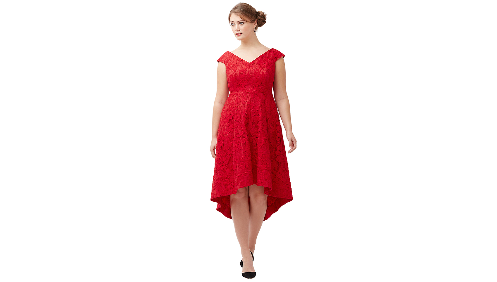 Lane Bryant Lily Fit & Flare Dress by Lela Rose