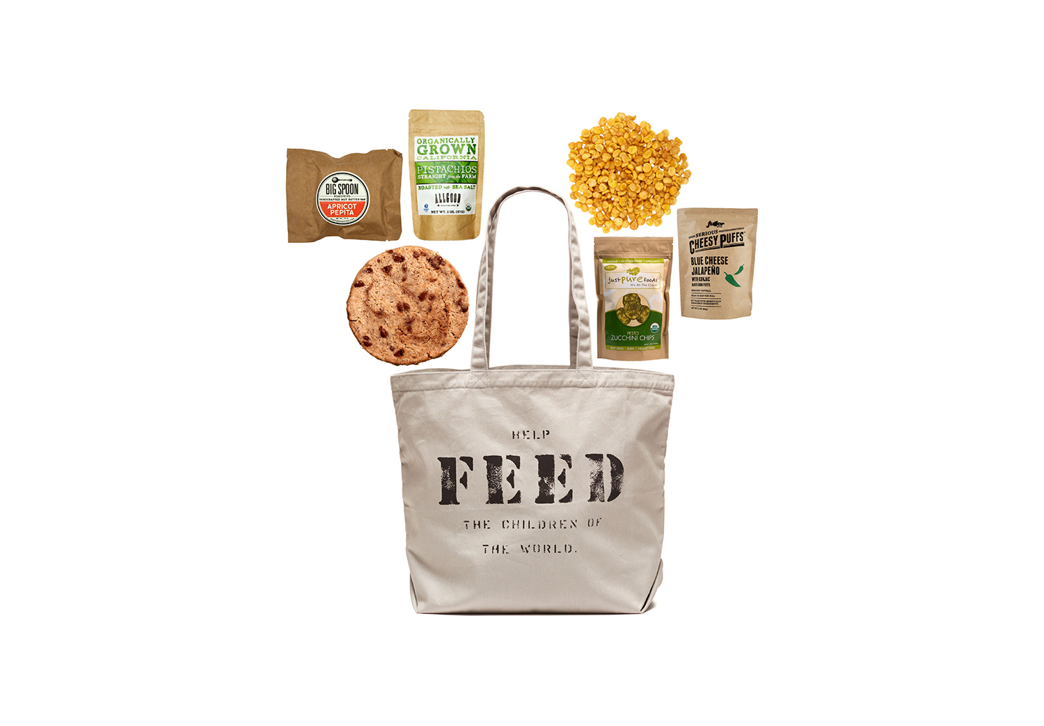 FEED + Mouth Snack Bag