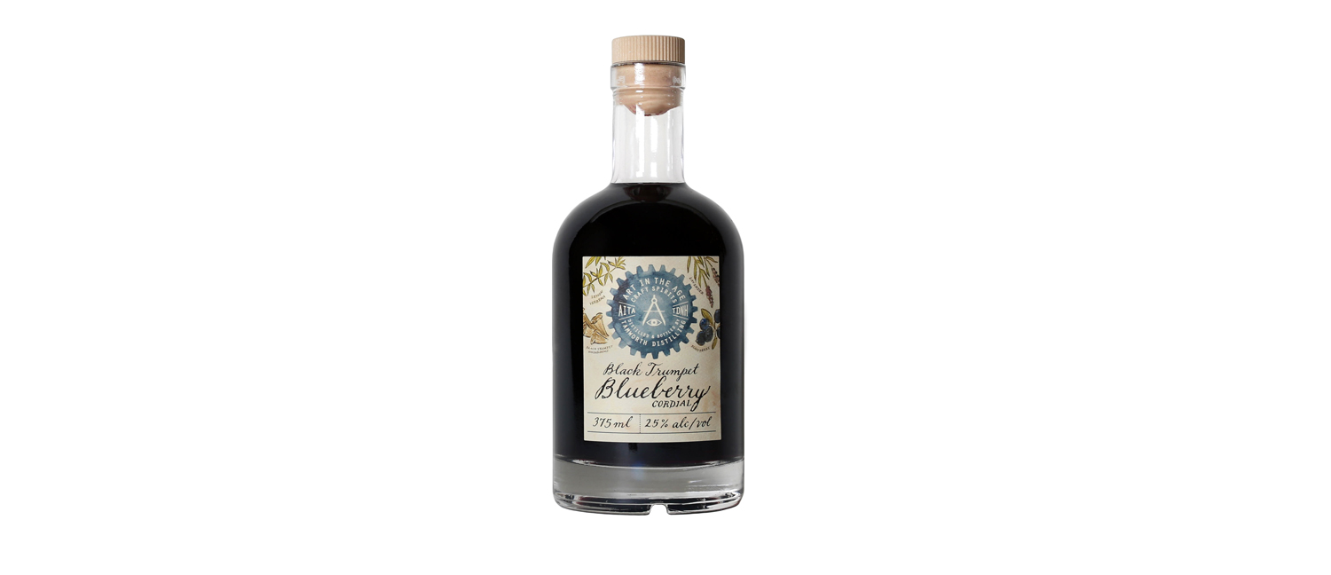 Art in the Age Craft Spirits Black Trumpet Blueberry Cordial