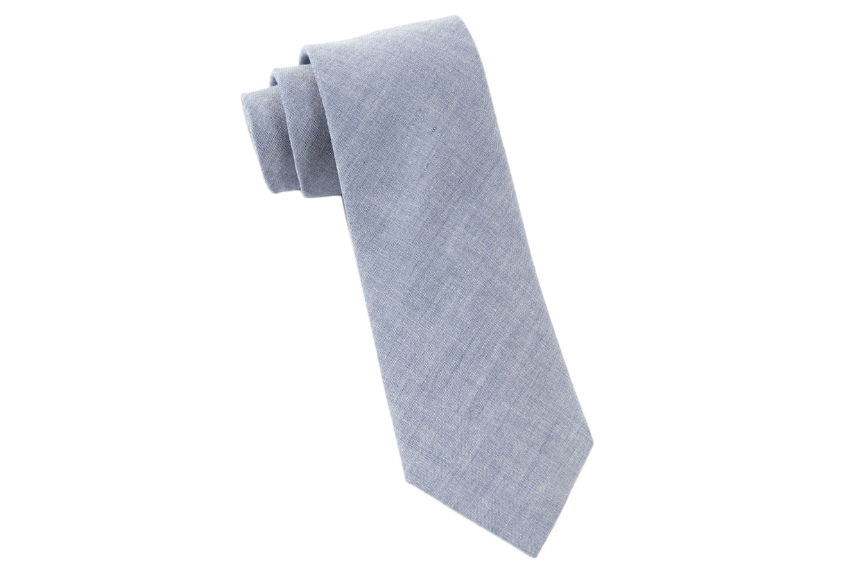The Tie Bar Classic Chambray Tie