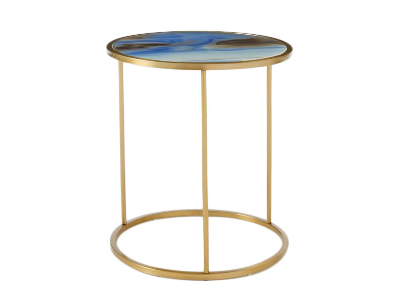 Roar + Rabbit Glass Side Table