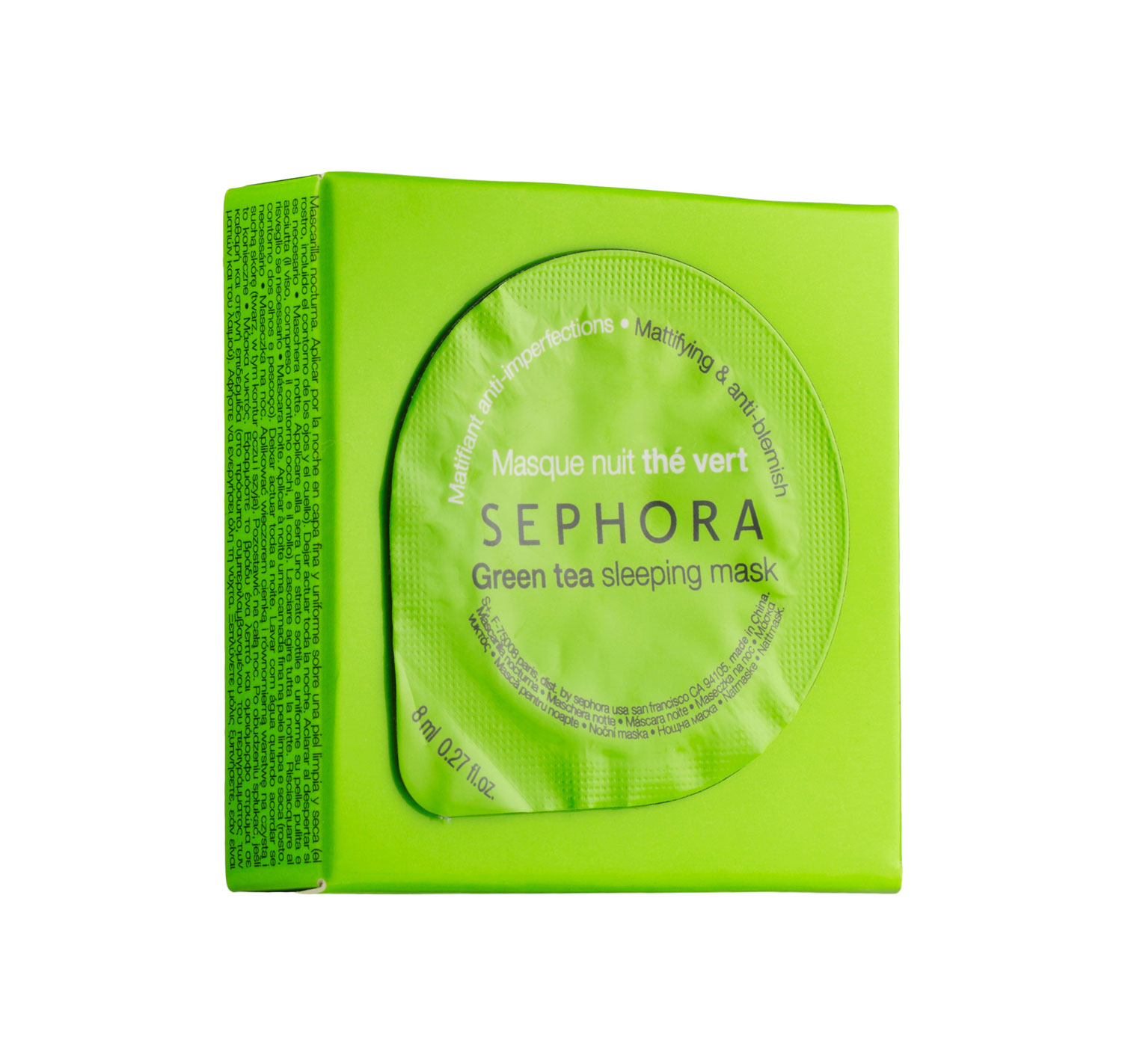 Sephora Collection Sleeping Mask in Green Tea