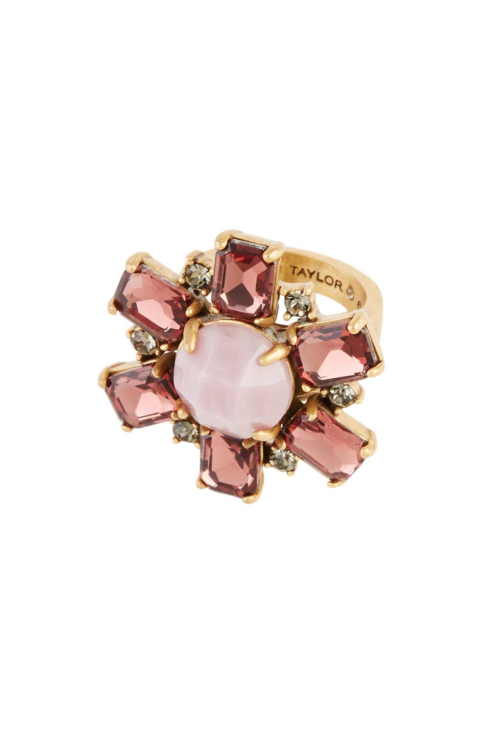 Ann Taylor Crystal Cluster Ring