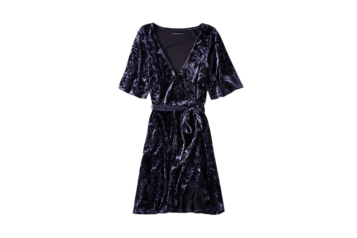 American Eagle Outfitters Velvet Tie Dress
