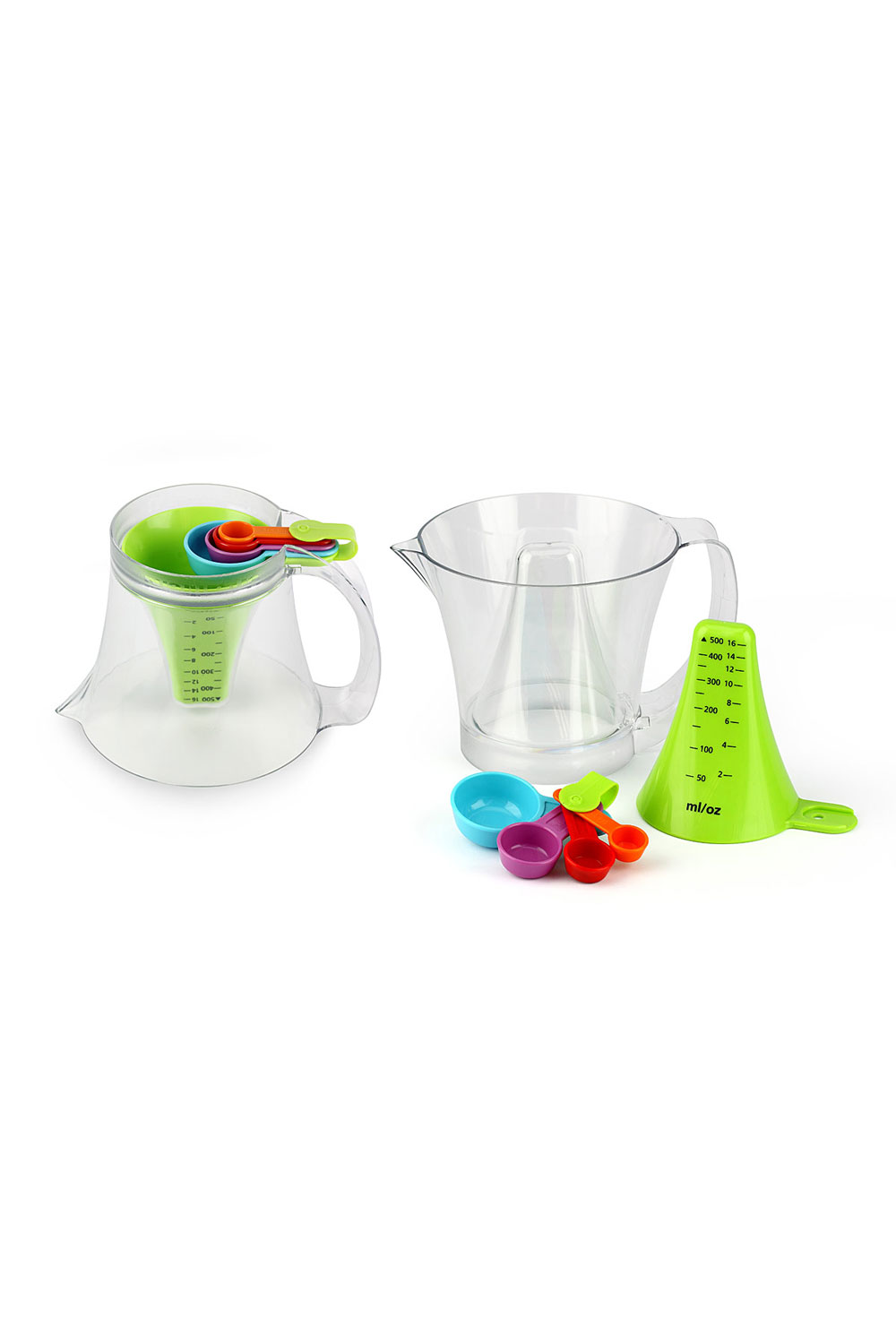 Reversible Measuring Cup and Spoon Set