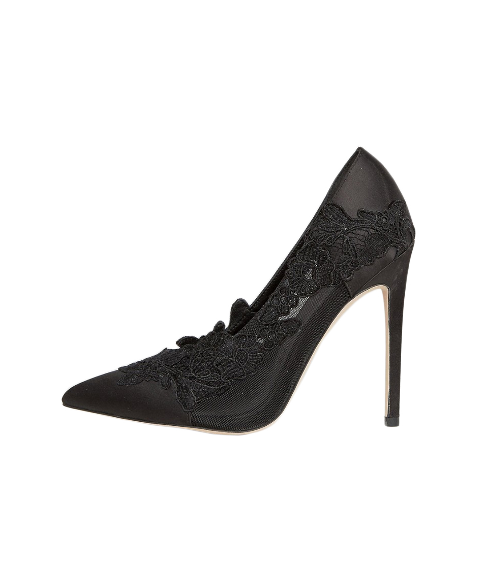 ASOS Pure Pointed Lace Heels