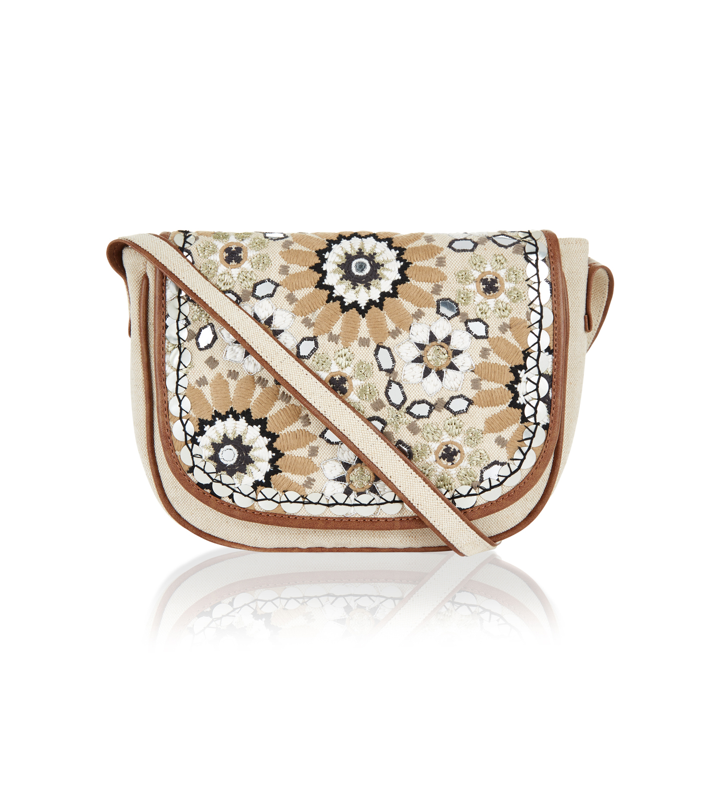 Accessorize Ariana Embellished Across-Body Bag