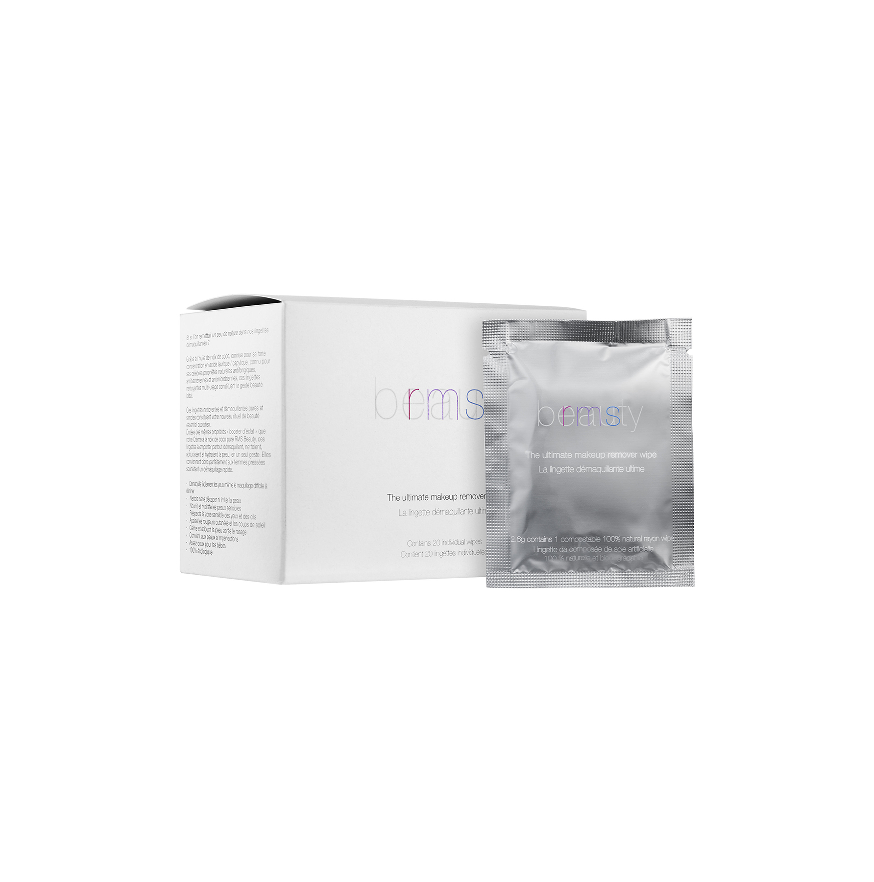 RMS Beauty Ultimate Makeup Remover Wipes