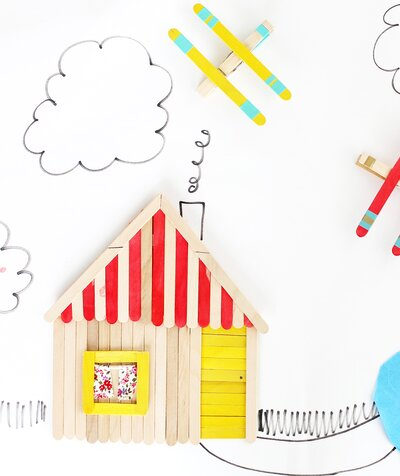 Popsicle Stick Crafts For Kids And Adults Real Simple