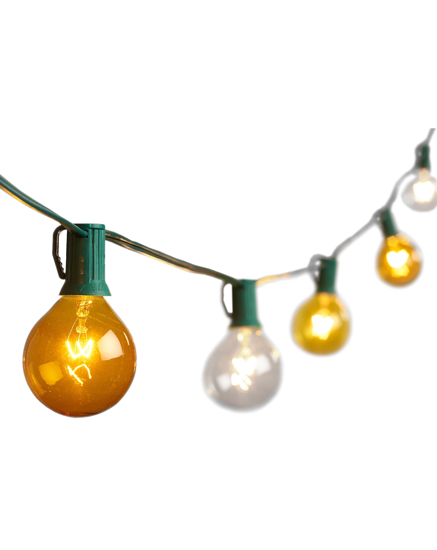 Mimosa-Colored String Lights