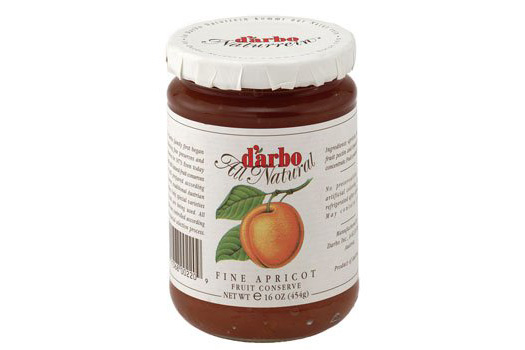 D'Arbo All Natural Rose Apricot Fruit Spread