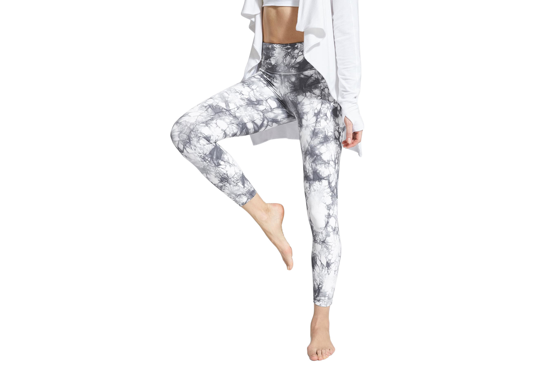 Athleta Tie Dye Salutation 7/8 Ankle Tight