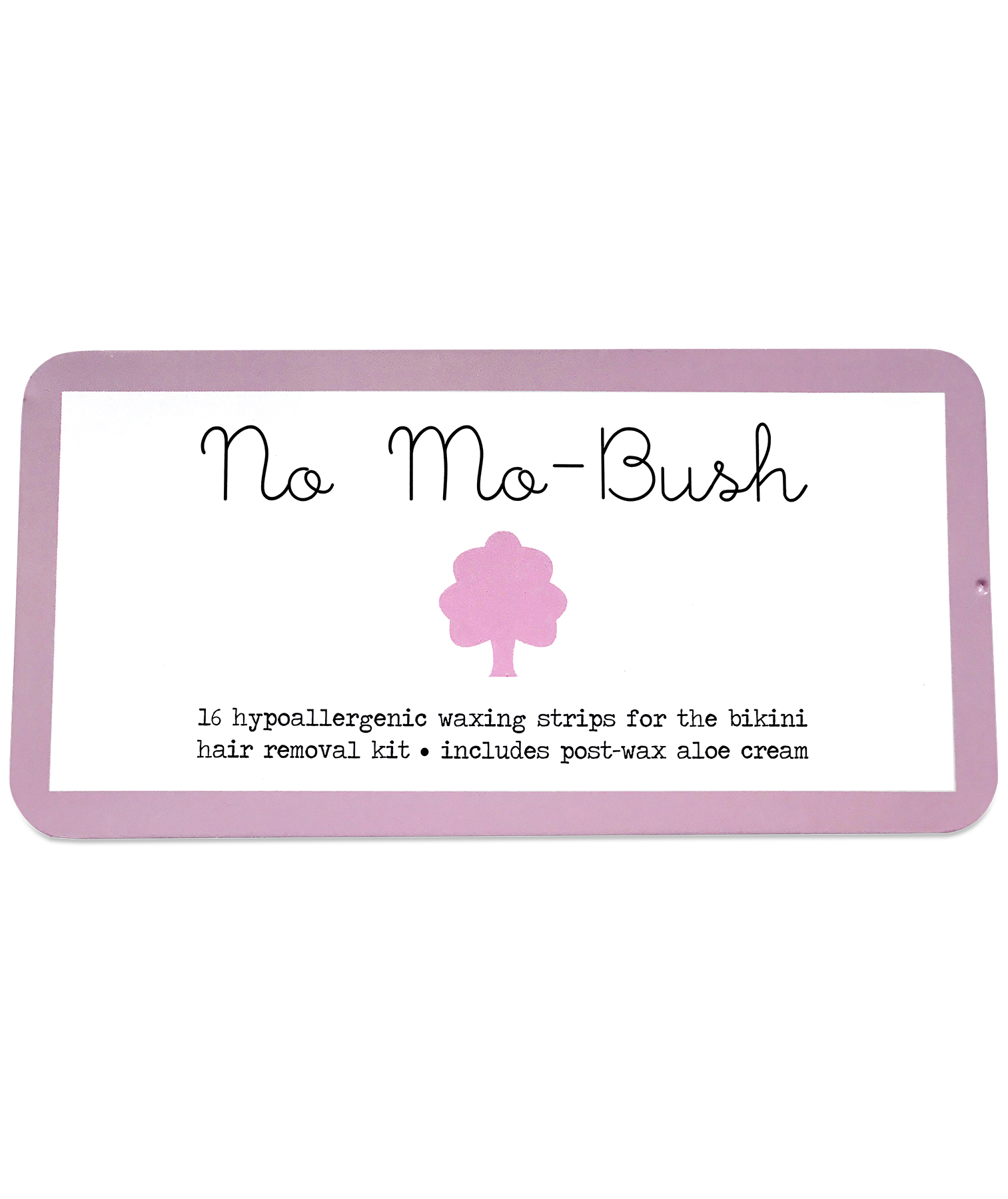 No-Mo-Bush Portable Bikini Waxing Kit